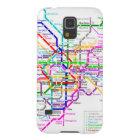 東京日本地下鉄の地図 GALAXY S5 ケース