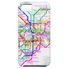 東京日本地下鉄の地図 iPhone SE/5/5s ケース