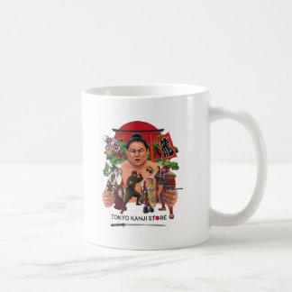 東京漢字の店の世界 コーヒーマグカップ