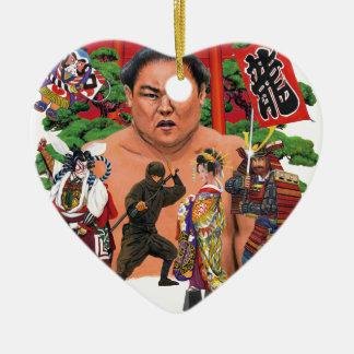 東京漢字の店の世界 セラミックオーナメント