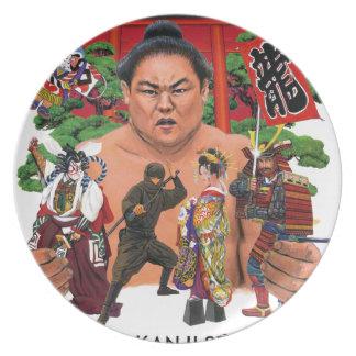 東京漢字の店の世界 プレート