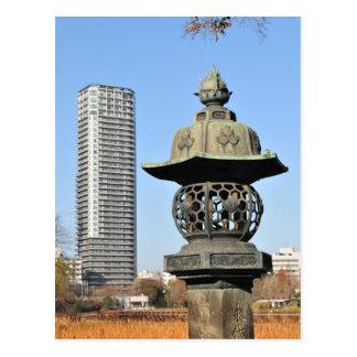 東京、日本の上野恩賜公園 ポストカード