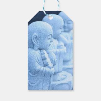 東京、日本の仏の彫像 ギフトタグ