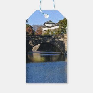 東京、日本の帝国宮殿 ギフトタグ