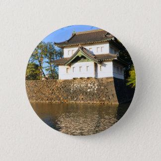 東京、日本の帝国宮殿 缶バッジ