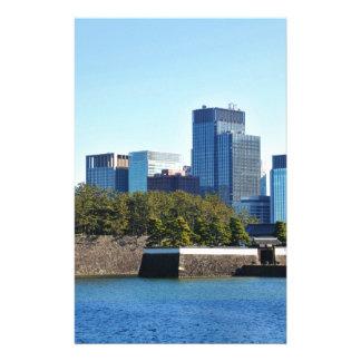 東京、日本の超高層ビル 便箋