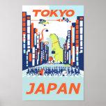 東京、日本旅行ポスター ポスター