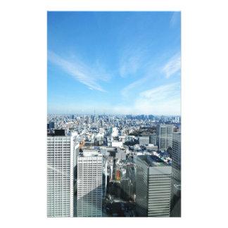 東京、日本 便箋