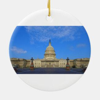 東側を造る米国の国会議事堂 セラミックオーナメント
