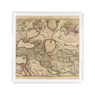 東半球およびローマ アクリルトレー