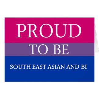 東南アジアおよびBiがあること誇りを持った カード