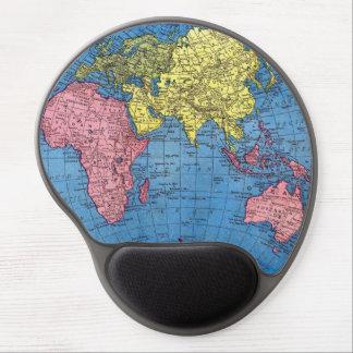 東大陸世界地図のゲルのマウスパッド ジェルマウスパッド