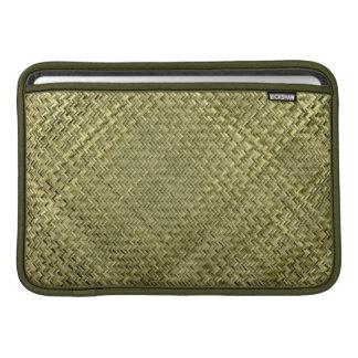 東洋のタケ織り方パターン MacBook スリーブ