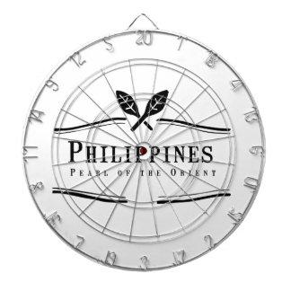 東洋のフィリピンの真珠 ダーツボード