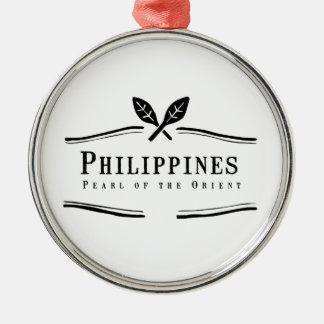 東洋のフィリピンの真珠 メタルオーナメント