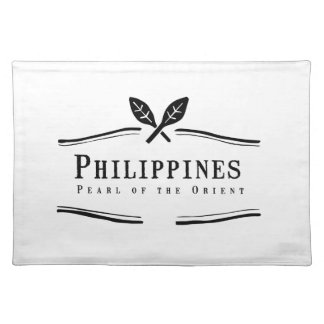 東洋のフィリピンの真珠 ランチョンマット