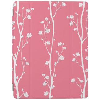 東洋のプラム花パターン iPadスマートカバー