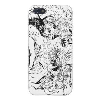 東洋の女の子のiPhoneの場合 iPhone 5 Case