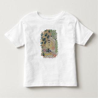 東洋の景色のデザイン(色のlitho) トドラーTシャツ