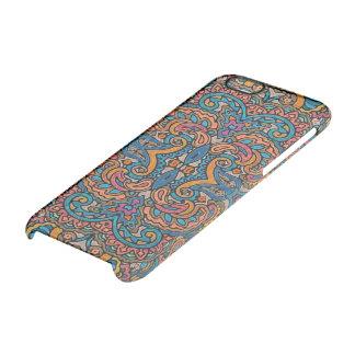 東洋の水彩画パターンVI + あなたのアイディア クリアiPhone 6/6Sケース