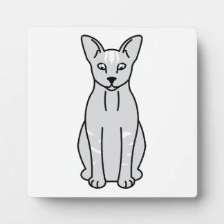 東洋の煙猫の漫画 フォトプラーク