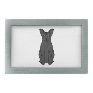 東洋の煙猫の漫画 長方形ベルトバックル