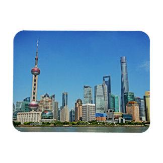 東洋の真珠タワー-上海の中国-磁石 マグネット