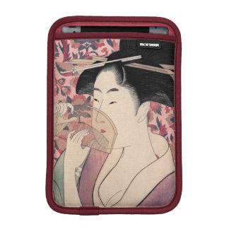 東洋の美しい、北川町Utamaro著Kushi iPad Miniスリーブ
