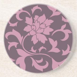 東洋の花-いちごのさくらんぼチョコレート コースター