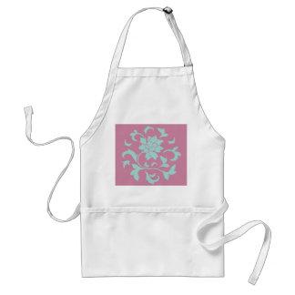 東洋の花-カサガイの貝-ピンク スタンダードエプロン
