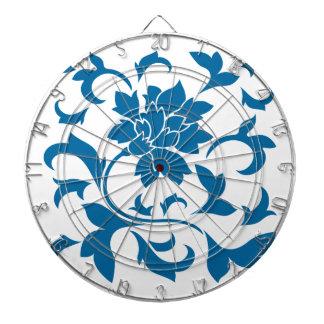 東洋の花-スノーケルの青 ダーツボード