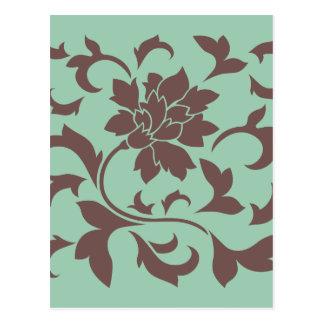 東洋の花-チョコレートアメリカツガ ポストカード