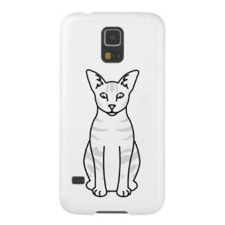 東洋の虎猫猫の漫画 GALAXY S5 ケース