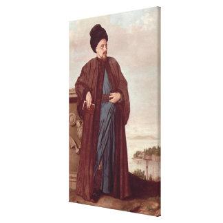 東洋の衣裳1738年のリチャードPococke キャンバスプリント
