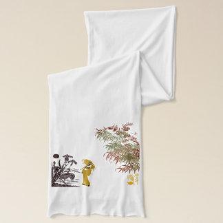 東洋の造園家のスカーフ スカーフ