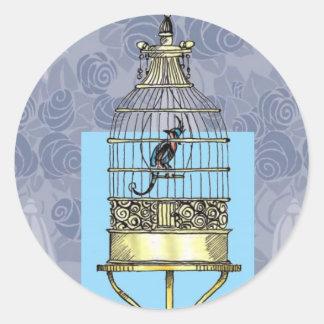 東洋の鳥かご ラウンドシール