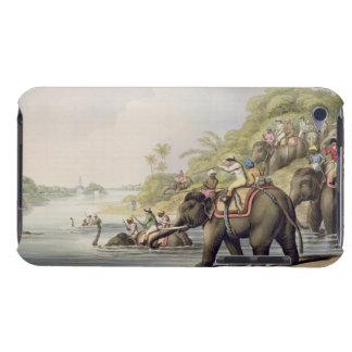 """""""東洋のFieからの川を渡るトラを、追跡します Case-Mate iPod Touch ケース"""