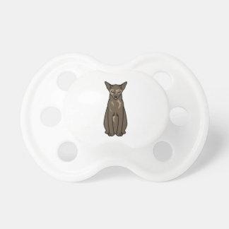 東洋のTortie猫の漫画 おしゃぶり