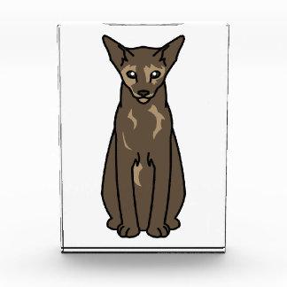 東洋のTortie猫の漫画 表彰盾
