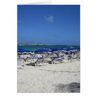東洋湾のビーチ カード
