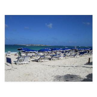東洋湾のビーチ ポストカード