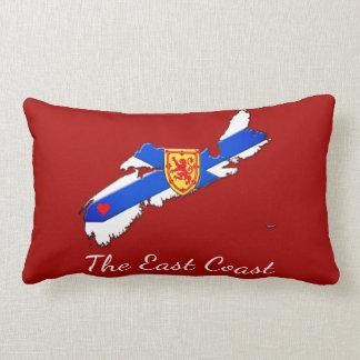 東海岸のノバスコシアの枕赤を愛して下さい ランバークッション