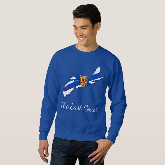 東海岸のハートのノバスコシアのワイシャツを愛して下さい スウェットシャツ