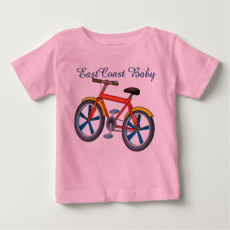 東海岸のベビーのバイクの自転車のワイシャツ ベビーTシャツ