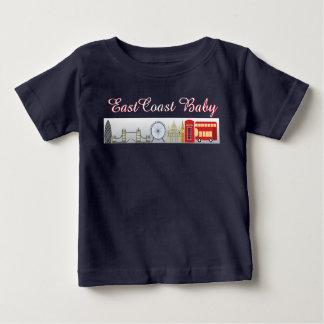 東海岸のベビーのロンドンイギリスのワイシャツ ベビーTシャツ