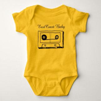 東海岸のベビーの音楽カセットテープカナダ ベビーボディスーツ