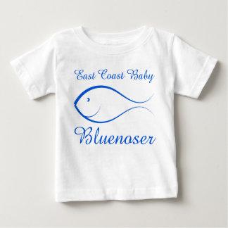 東海岸のベビーのBluenoserの魚のかわいく航海のなワイシャツ ベビーTシャツ