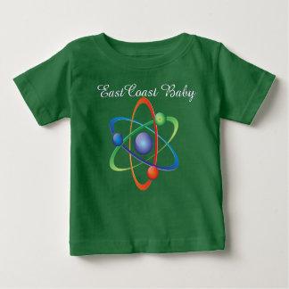 東海岸のベビー原子科学のワイシャツ ベビーTシャツ