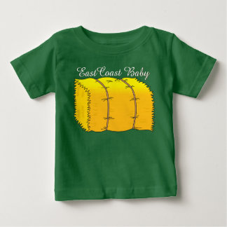東海岸のベビー農場の干し草の保釈 ベビーTシャツ