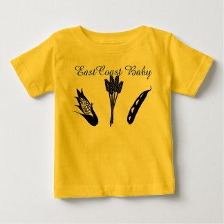 東海岸のベビー農業のワイシャツ ベビーTシャツ
